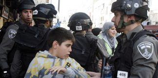 israel-arrested-130-palestinian-minors-in-august-report