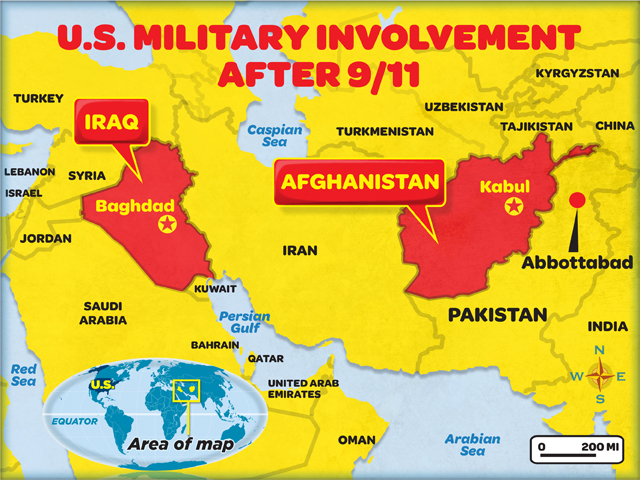 timeline 16 year us invasion afghanistan