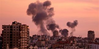 israeli-tank-aircraft-attack-gaza-security-posts