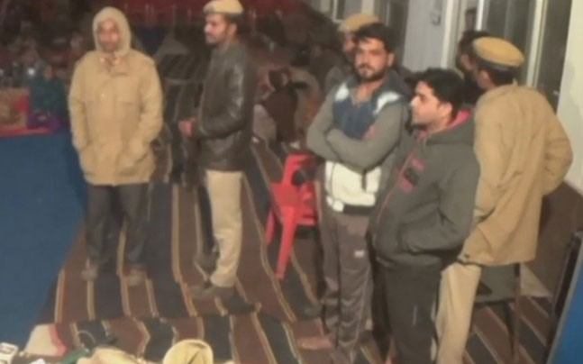 rajasthan-locals-disrupt-christmas-event-allege-forcible-conversion