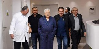 palestinian-president-abbas-leaves-hospital-8-day-stay